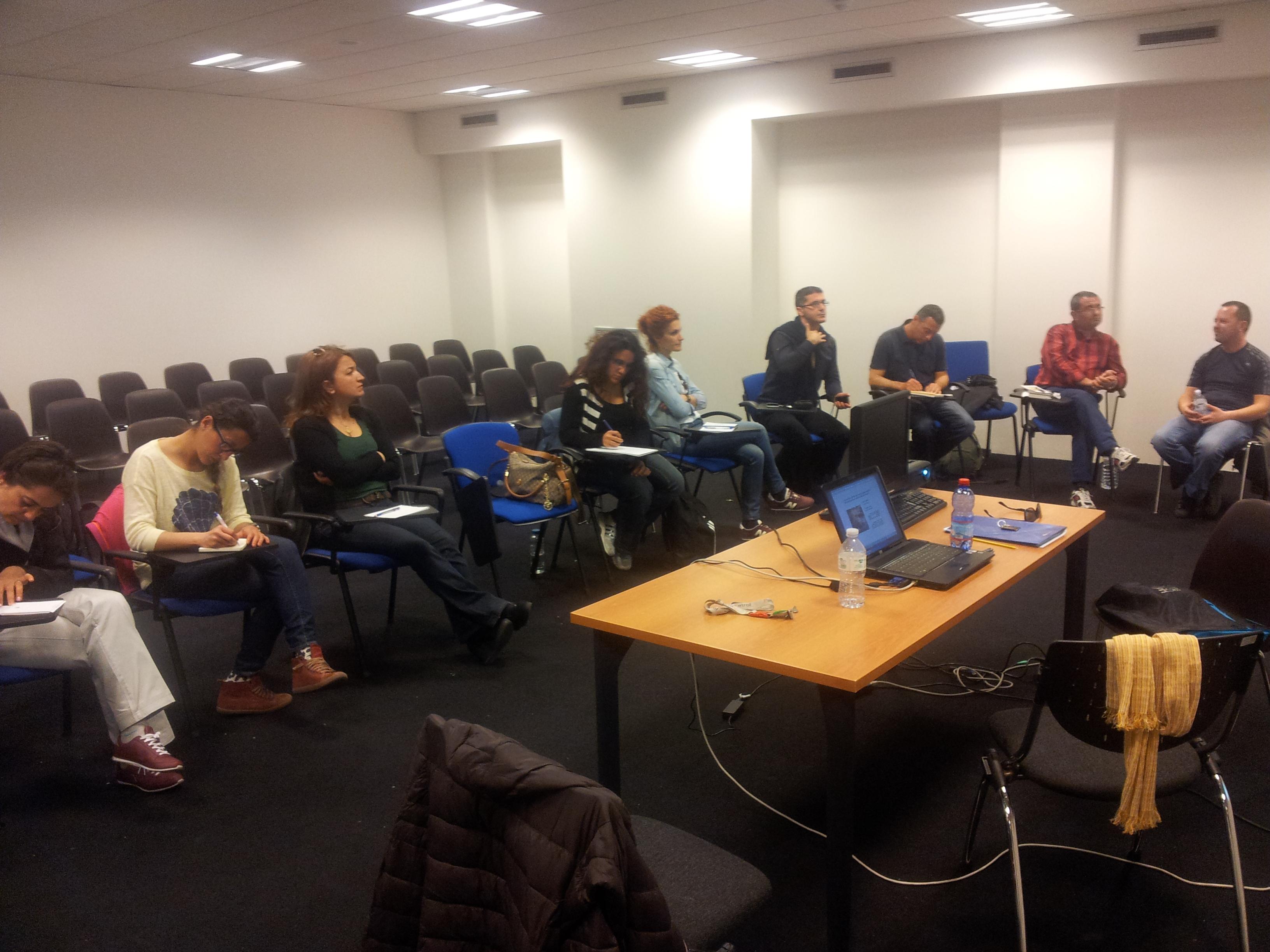 Erasmus plus training course Ict